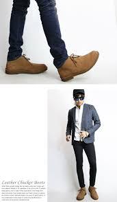 progre rakuten global market choose from leather chukka boots