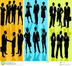 Free Silhouette Images Business People Vector Silhouette Royalty Free Stock Images