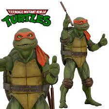 teenage mutant ninja turtle michelangelo 1 4 scale action figure
