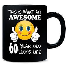 gift 60 year woman emoji birthday 60th birthday presents woman 60 year