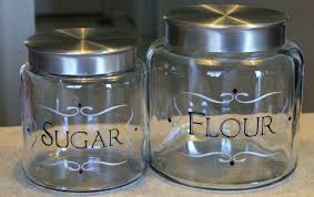 kitchen canisters and jars glass kitchen storage canisters home decorating interior design