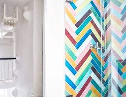 chevron bathroom ideas colourful bathroom ideas archives bright bazaar by will