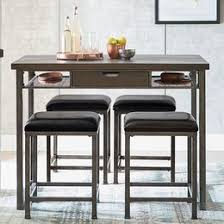 Bar Table And Stool Modern Dining Furniture Allmodern