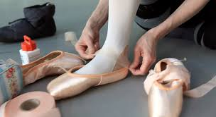 how ballet dancers prepare pointe shoes for performance youtube