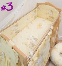 Cot Bedding Set 3 Nursery Cot Baby Bedding Set With All Padded