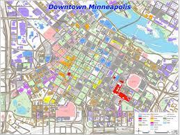 Minneapolis Metro Map by Downtown Minneapolis Map Minneapolis Street Map Inspiring World