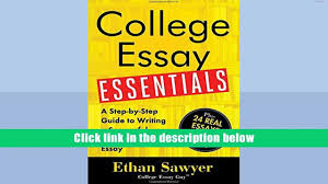 free download college essay essentials a step by step guide to