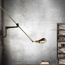 adjustable arm lighting fixtures antique industrial wall l classic art nordic wall light e27 40w