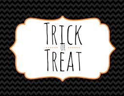 free halloween printables u2013 trick or treat picture decoration