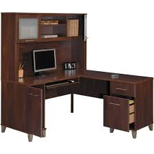 L Shaped Modern Desk by Bush Somerset 60
