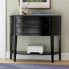 Accent Tables For Living Room by Furniture Rustic Honey Wooden Entryway Table With Undershelf For