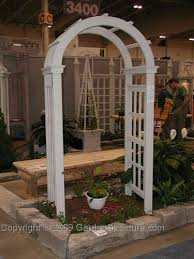 garden arbor plans simple arched garden arbor plans instructions to build an arched arbor