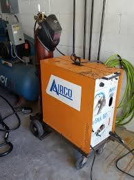 bought a new to me airco dip stick 160 multiprocess welder