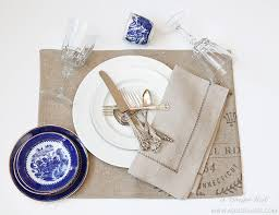 How To Set A Table How To Set A Dinner Table