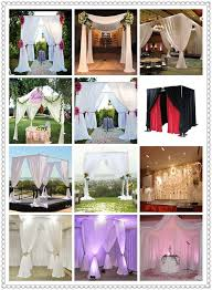 professional wedding backdrop kit indian wedding backdrop mandap curtains pipe and drape kits for