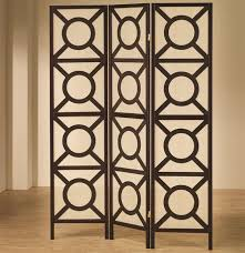 Folding Room Divider by Chicago Furniture Circle Pattern Folding Screen