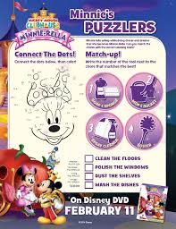 download minnie mouse activity pages minnie rella dvd