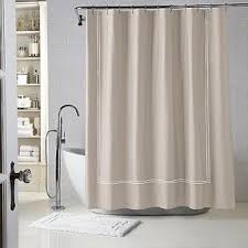 Narrow Shower Curtains For Stalls Stall Cotton Shower Curtain Foter