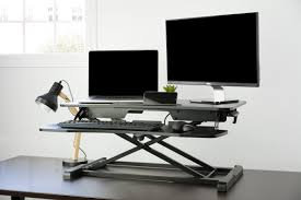 Stand Sit Desk by Desk V000kheight Adjustable Standing Desk Sit To Stand Gas Spring