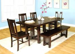 dining room tables with benches and chairs dining sets with bench dining table bench set room round tables