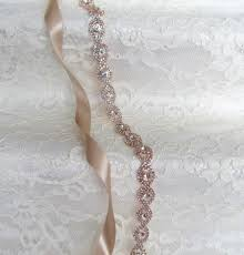 wedding sashes and belts gold rhinestone bridal sash wedding sash belts and