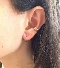 earring cuffs how to wear ear cuffs closetful of clothes