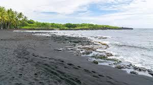 where is the black sand beach 13 day hawaiian dream vacation moana tours vacations