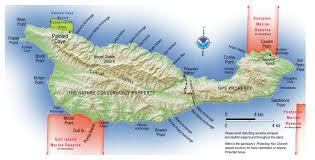 Put In Bay Map Santa Cruz Island Island Packers Cruises