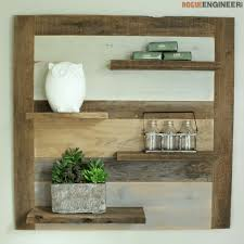 Making Wood Bookshelves by Scrap Wood Shelf Rogue Engineer