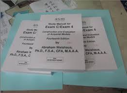 actex study manual soa exam p