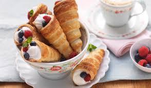 puff pastry cream cones wewalka