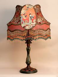 258 best lovely lampshades u0026 vintage lamps images on pinterest