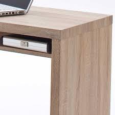 Schreibtisch Eiche Schreibtisch Miami In Eiche Sonoma Mit Regal Wohnen De