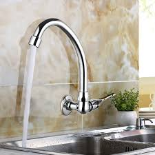 Wall Mount Kitchen Faucet by Single Handle Wall Mounted Kitchen Faucet Promotion Shop For
