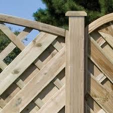Curved Trellis Fence Panels Garden Fences U0026 Gates Garden Fencing