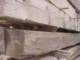 reclaimed wood beams weathered dimensional pine or fir