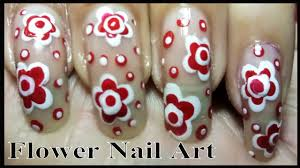 easy nail designs best flower nail art tutorial using dotting