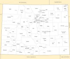 Colorado Springs Co Map by Colorado Cities And Towns U2022 Mapsof Net