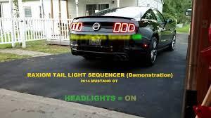 2014 mustang gt raxiom sequencer sequential light mod