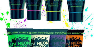blacklight party supplies so at party theme glow black light party so at