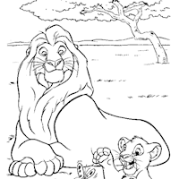 lion king coloring pages print lion king pictures color