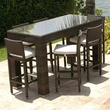 Tall Patio Set by Home Design Exquisite High Outdoor Table Beautiful Tall Good
