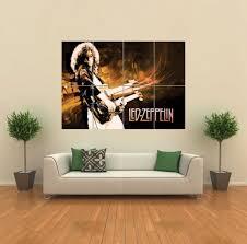 amazon com led zeppelin giant wall art print poster g774 posters amazon com led zeppelin giant wall art print poster g774 posters prints
