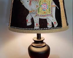 Elephant Table Lamp Living Room Lamp Etsy