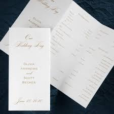 Wedding Programs Trifold 42 Best Tri Fold Wedding Programs Images On Pinterest Tri Fold