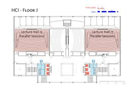 lecture hall floor plan maps qipc 2011