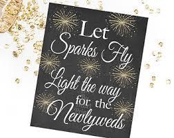 Sparklers For Weddings Sparkler Sign