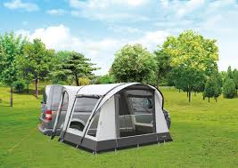 Inflatable Driveaway Awning Motoair Low Camptech Inflatable Motorhome Awnings