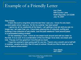 friendly letters blair turner kelly vickers 2 nd grade kelly