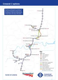 National Rain Map Crossrail 2 Route Is Safeguarded